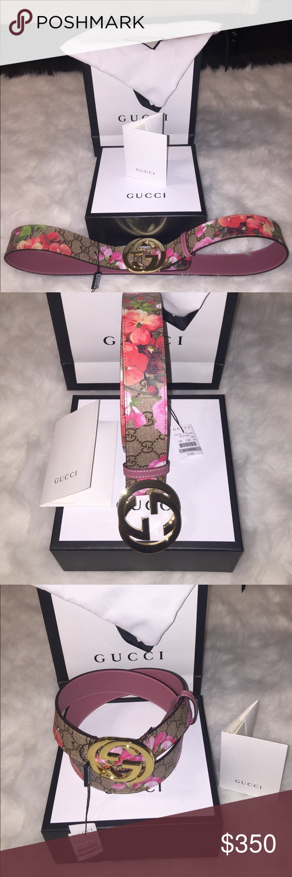 0f90ceddb89 Women s Gucci Bloom Belt Women s Gucci Bloom Belt Authentic Brand new Comes  with everything in the pictures gucci Accessories Belts