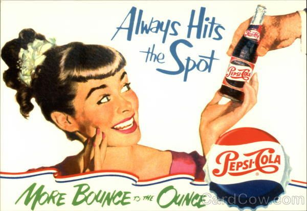 Always Hits the Spot Pepsi Cola Advertising Reproductions