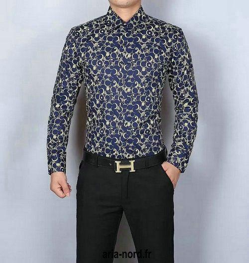 2017 popular chemise coton givenchy homme chemise en jean longue givenchy slim fit CHGC6053