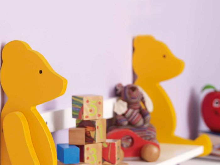 DIY-Anleitung Bärenregal für das Kinderzimmer selber bauen via