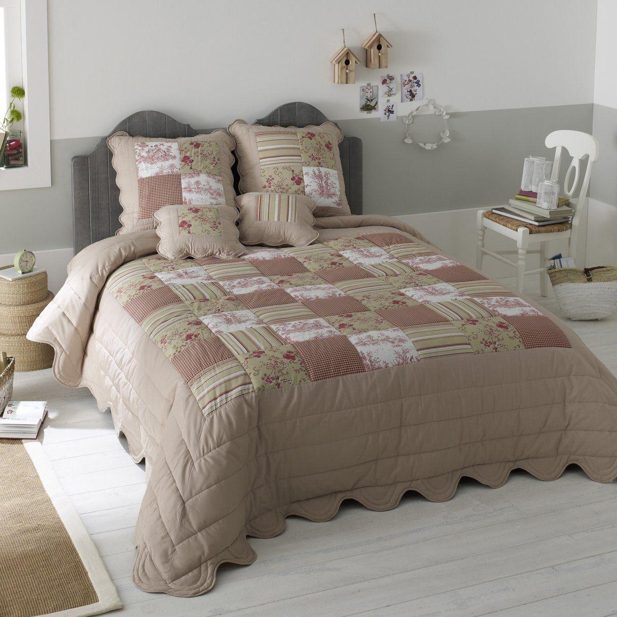 couvre lit patchwork laredoute d co couvre lit. Black Bedroom Furniture Sets. Home Design Ideas