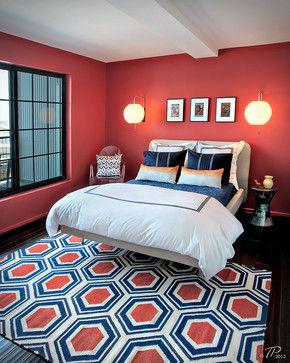 Navy Blue And Coral Bedding 2 017 Navy Coral Bedroom Design Photos Red Bedroom Design Coral Bedroom Navy Coral Bedroom