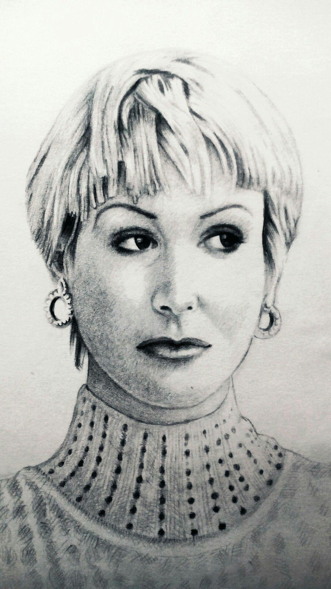 Beauty Pencil Sketch by Ali Shaikh Artist Pakistani Painter