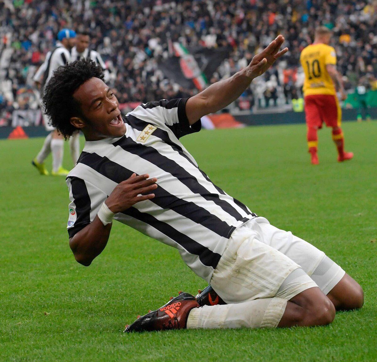 e5478beb9 Juventus today debuted their ultra-classy Adidas 120-years anniversary  jersey.
