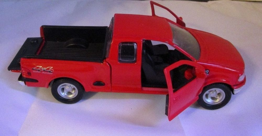 1 38 Scale 1997 Ford F 150 Flareside Supercab Red Pickup Truck Die Cast 4 X 4 Pickup Trucks Diecast Ford F150