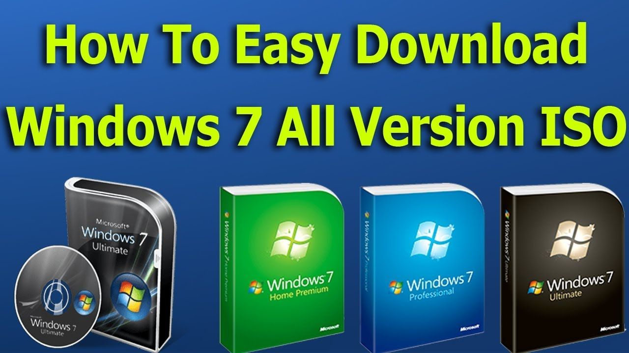 How To Download Windows 7 Ultimate ISO File For Free Full