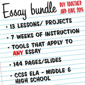Essay Writing Mega Bundle All Of My Current And Future Essay  Essay Writing Mega Bundle All Of My Current And Future Essay Lessons   Language Arts Language And Art Lessons Pay For Written Literature Review also How To Write A Proposal Essay Outline  Apa Essay Paper