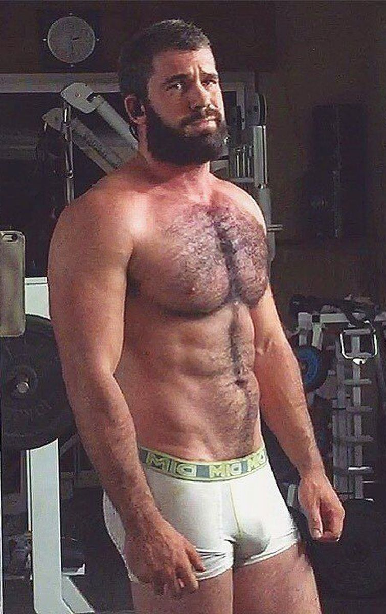Authoritative Sexy men with hairy chest consider