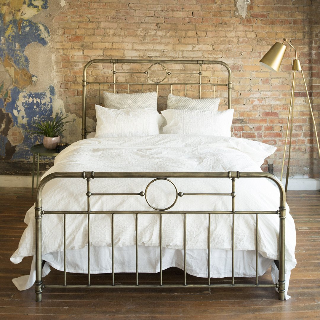 Antiqua Bronze Queen Bed | Pinterest