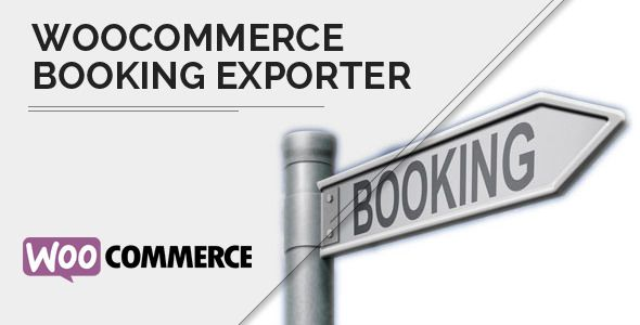 WooCommerce Bookings Exporter   Download CSV, PDF or Email
