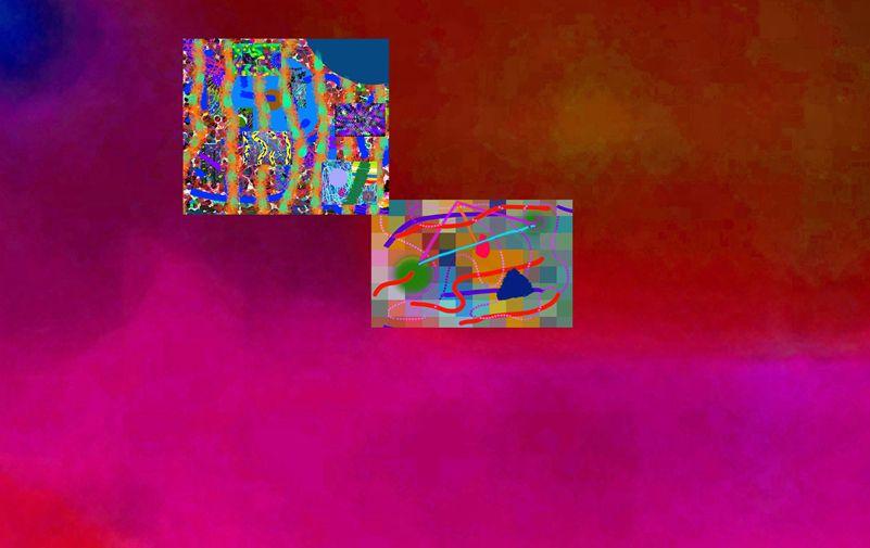 4-10-2056E by Walter Paul Bebirian Digital ~  x