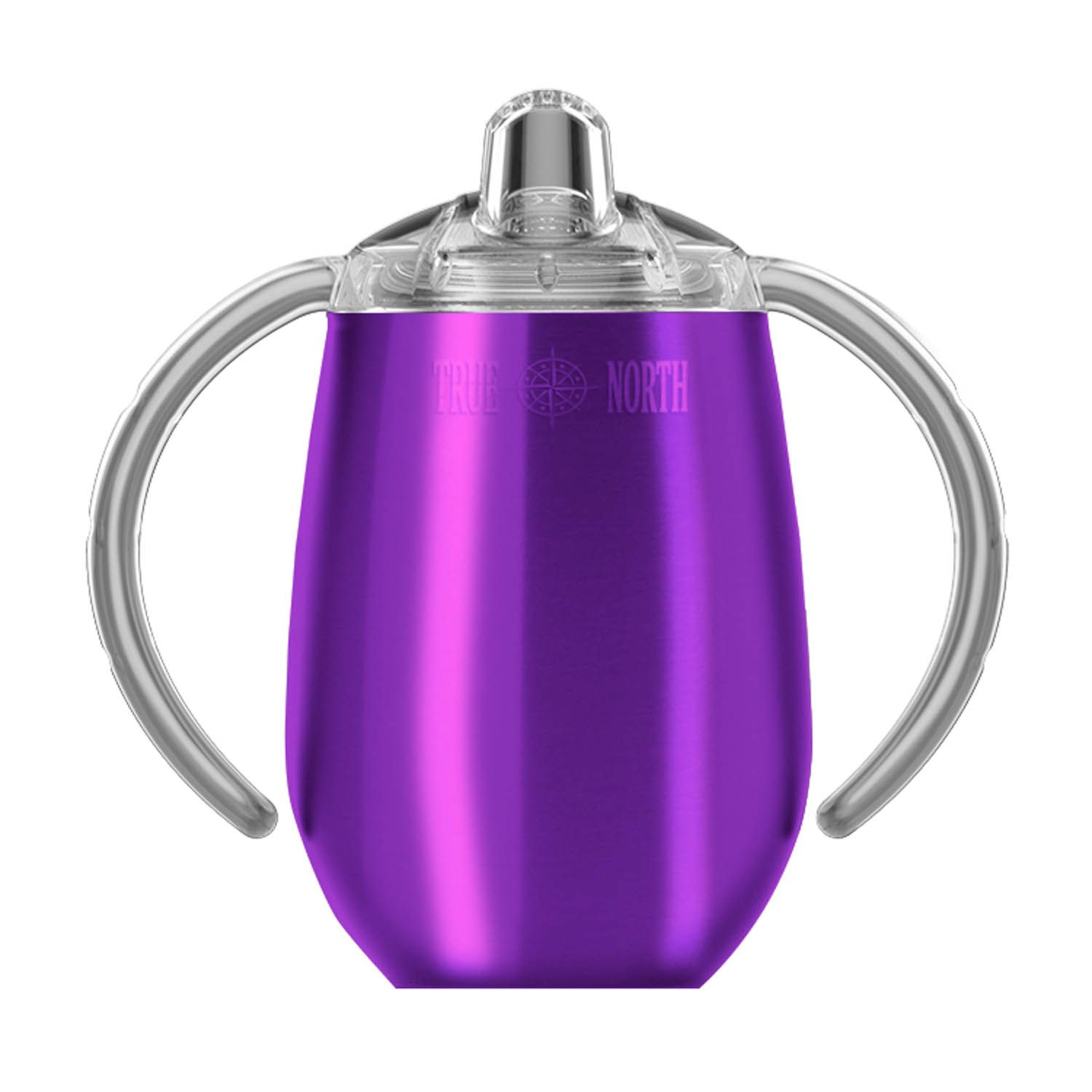 9oz Stainless Steel Sippy Cup Purple Tumbler cups