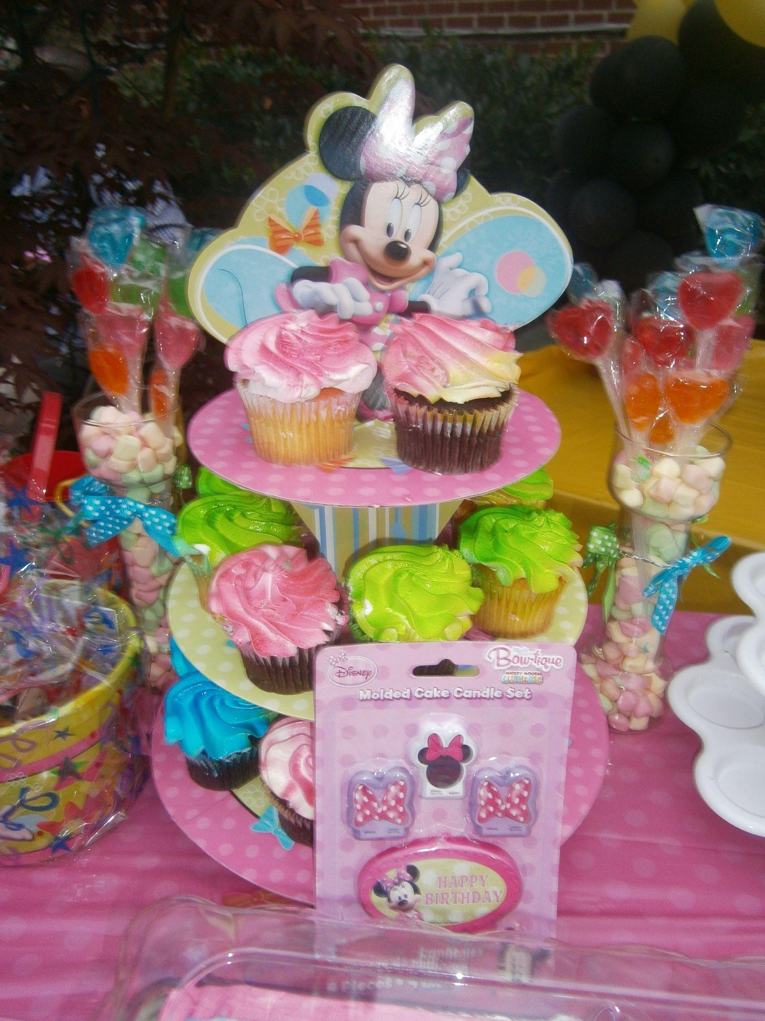 Cup Cakes Theme Colors Fr Walbaum Supermarket Minnie Mouse