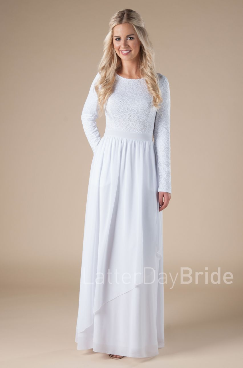 30 Stunning Temple Dresses Any Latter Day Saint Woman Would Love To Wear Temple Dress Lds Temple Dress Dresses [ 1290 x 852 Pixel ]