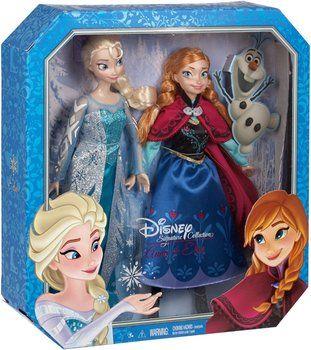 Mattel Frozen Classic Collection Anna Elsa Giftset Precios Muñeca De Moda Muñec Juguetes Princesa Muñecos De Disney Muñecas De Las Princesas De Disney