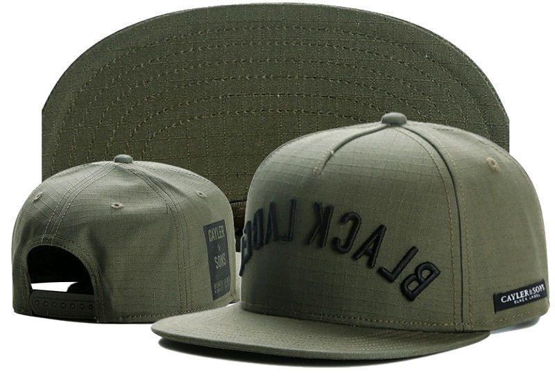 Hip Hop Men s Cayler Sons Cap Adjustable Baseball Snapback Green Street Hat 957c0ca018c