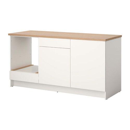 KNOXHULT Spodní skříňka s dvířky a zásuvkou, bílá Base cabinets - ikea küchen unterschränke