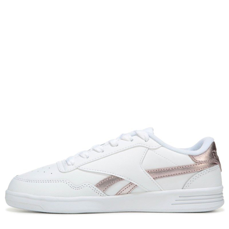 Reebok Women s Club Memt Sneakers (White Rosegold)  69c851ae1