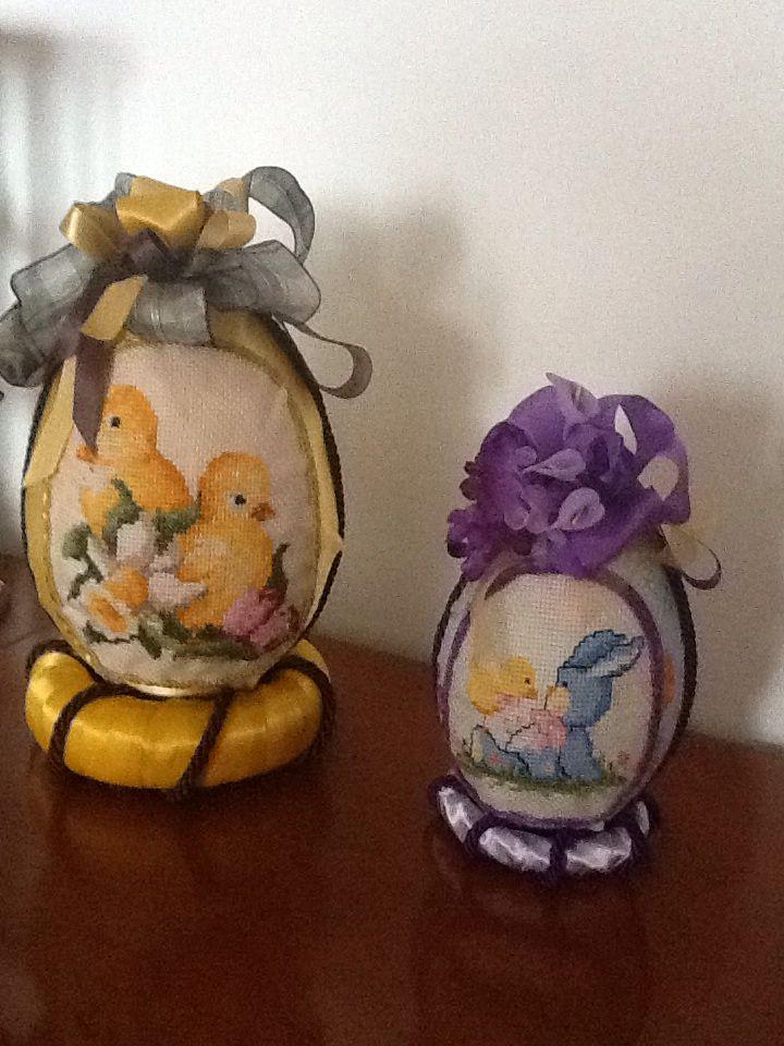 Uova di Pasqua tessuto by Maria D'Eugenio