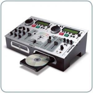 Quality Numark KMX02 Dual-CD+G Deck and Mixer Karaoke DJ