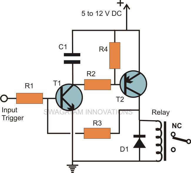 transistor latching circuit diagram wire data schema u2022 rh 45 32 206 240