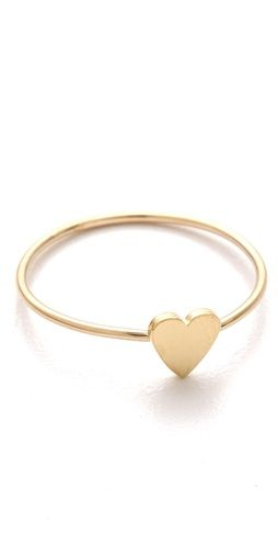 Jennifer Meyer Mini Heart Ring