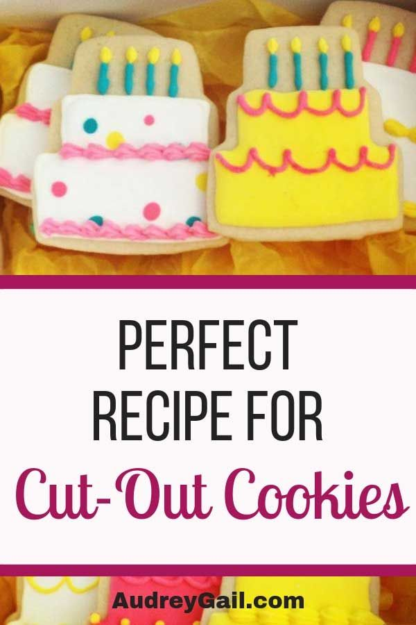 Never-Fail Cut Out Sugar Cookie Recipe! #halloweensugarcookies