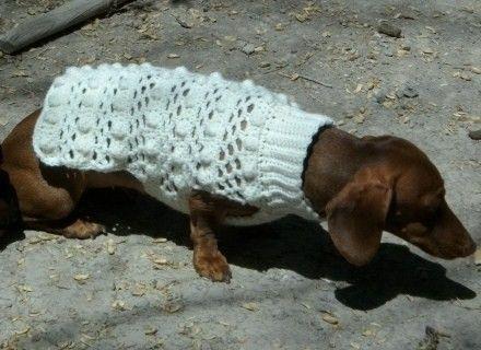http://www.artfire.com//crochet_dog_sweater_pattern_