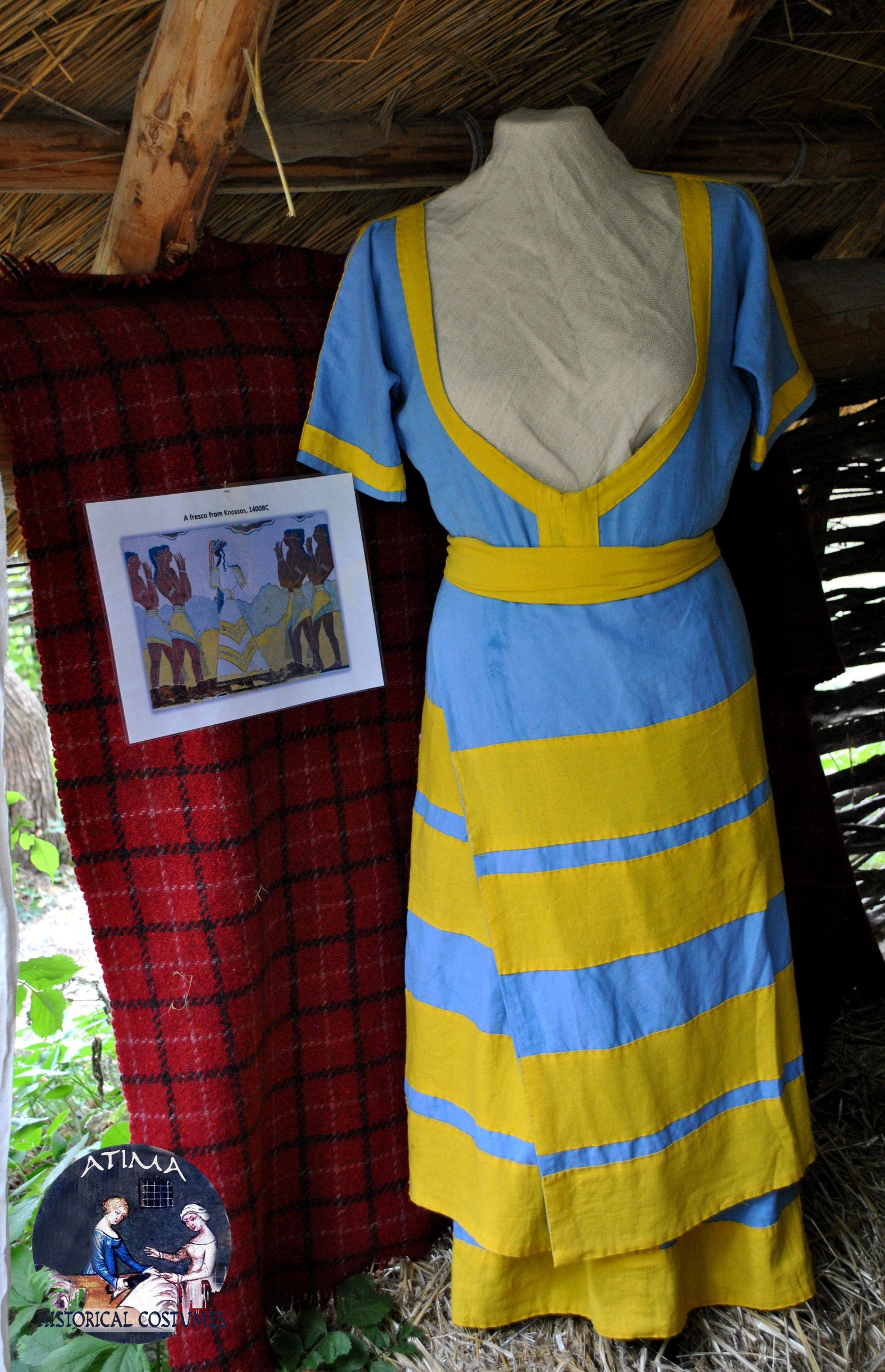 Minoans Linen Dress