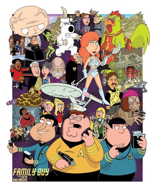 Cool Art: Family Guy Meets Star Trek by Mick Cidy   Family Guy ... Zombie Custom Map Family Guy on custom nazi zombies, call duty black ops zombies all maps, battletech maps, black ops 2 zombies maps, custom zombies tmg, custom zombies airport, custom zombies rocket base 10, custom cod zombies, star wars miniatures maps,