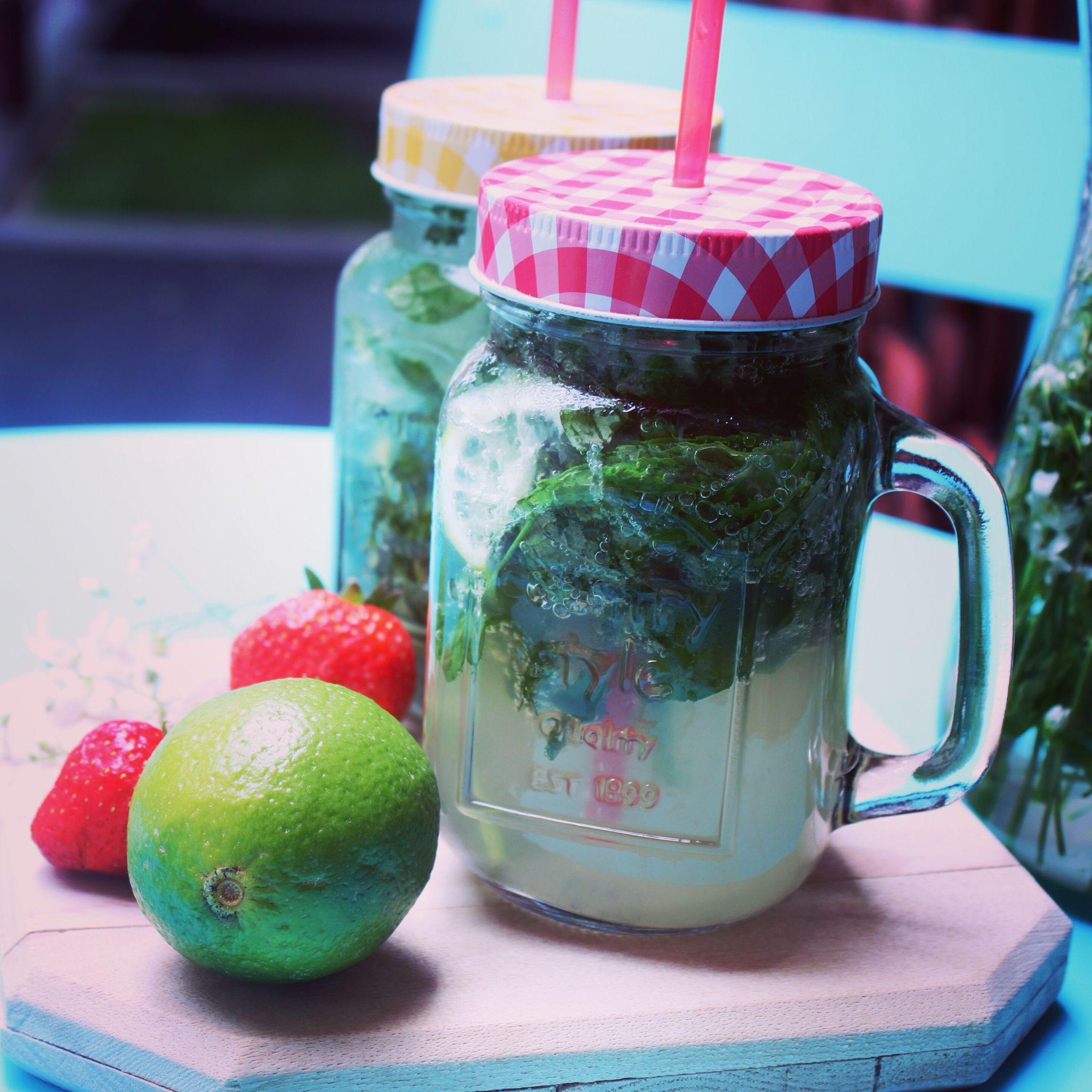 I love the homemade lemonade and those cute jars from coincasa.