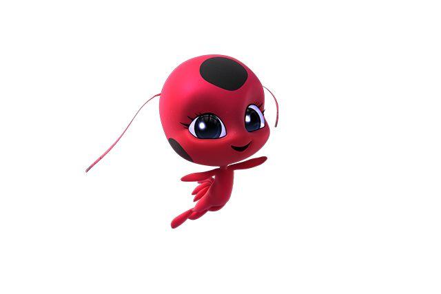 هي كائن سسحري صغير ملك مارينيت تيكي تمكن مارينيت من التحول للشخصية الخارقة لادي بج تيكي تمتلك رأسا كبيرة Miraculous Ladybug Ladybug Chibi Drawings