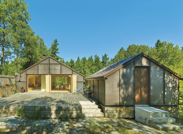 A Perfectly Spartan Swedish Cabin By Tove Fogelstrom Arch House