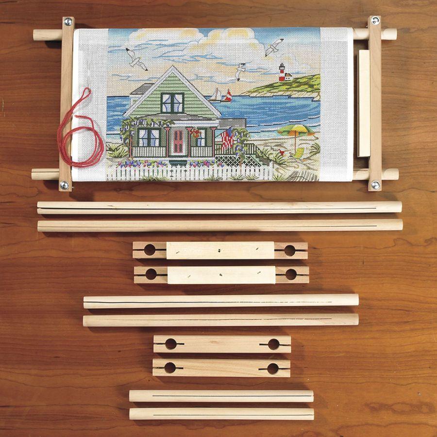 Scroll Frame Set - Cross Stitch, Needlepoint, Embroidery Kits ...