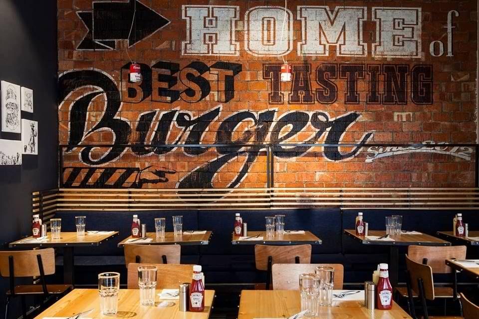 Burger restaurant design pinterest
