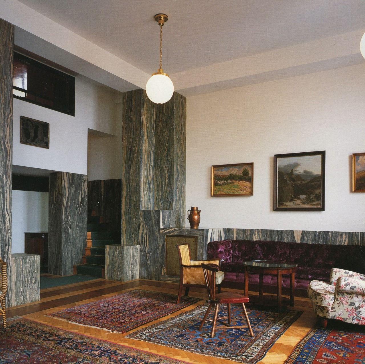 Antique Mediterranean Homes Interior Design Architecture: Adolf Loos, Villa Müller