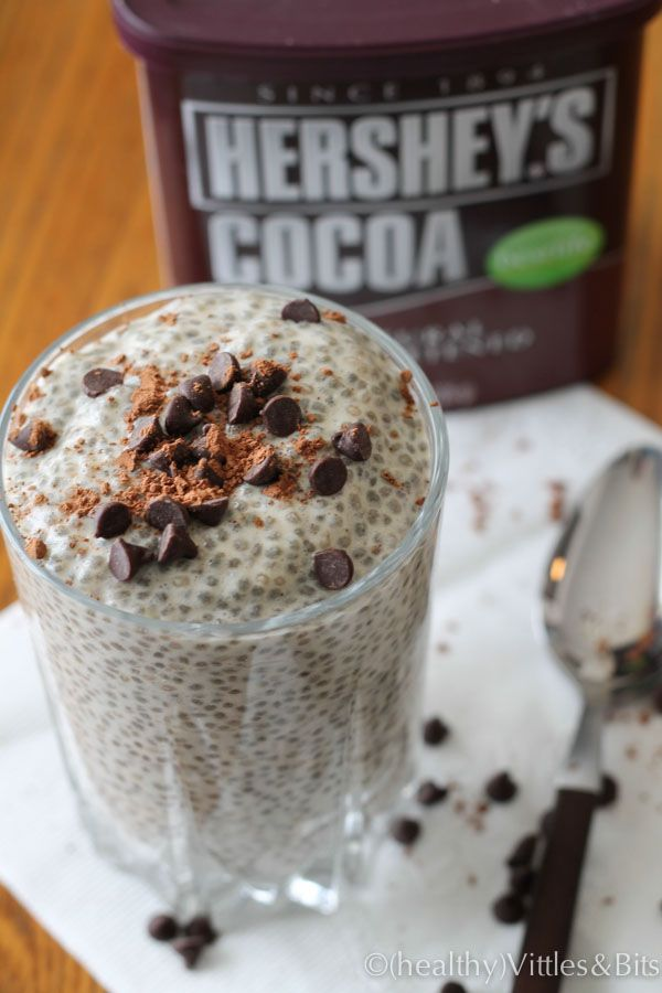 Caramel Chia Seed Pudding - super easy and super healthy! Low carb/sugar free #healthydessert