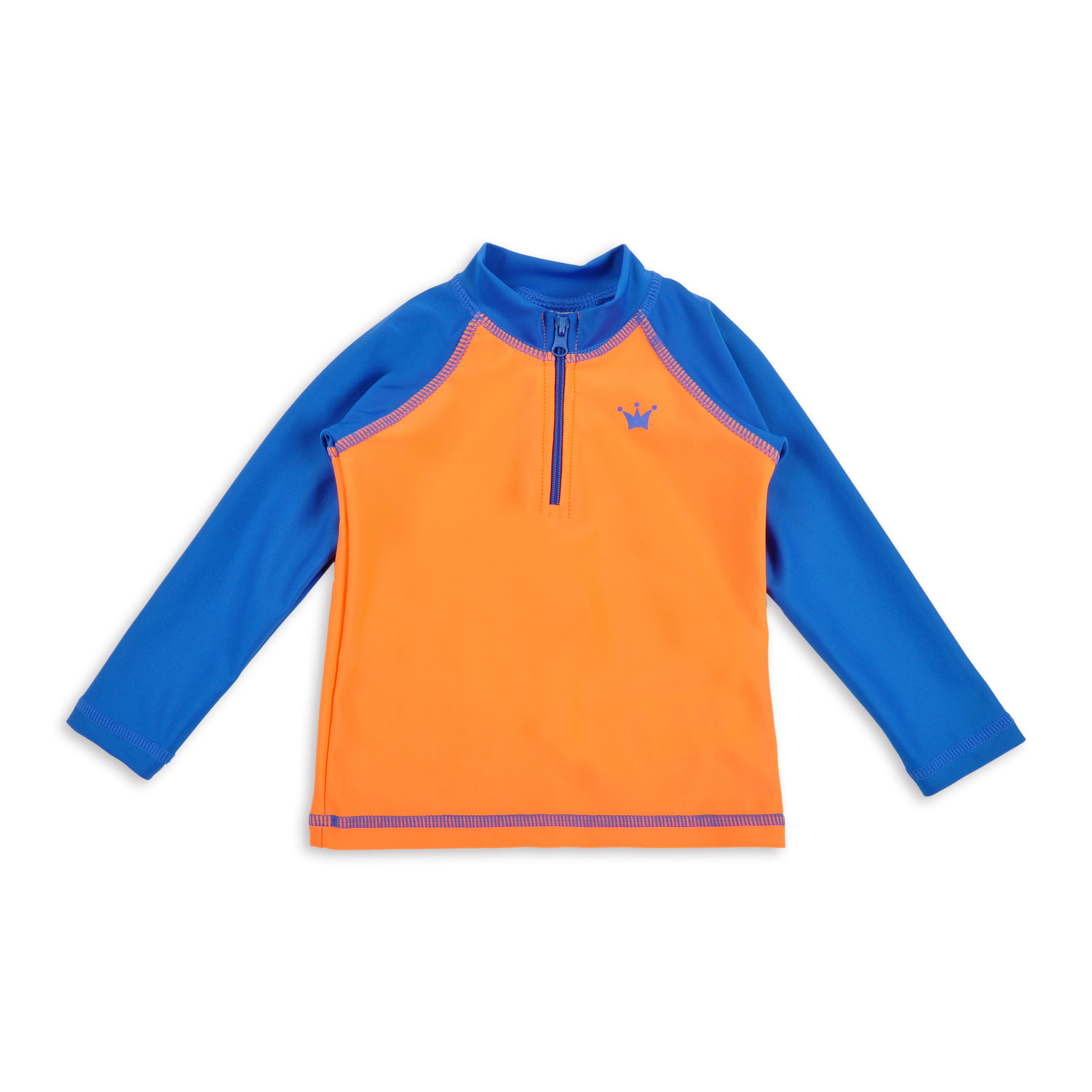 c0b0cab128 Franela EPK de agua para niño color anaranjado neón con detalles en azul