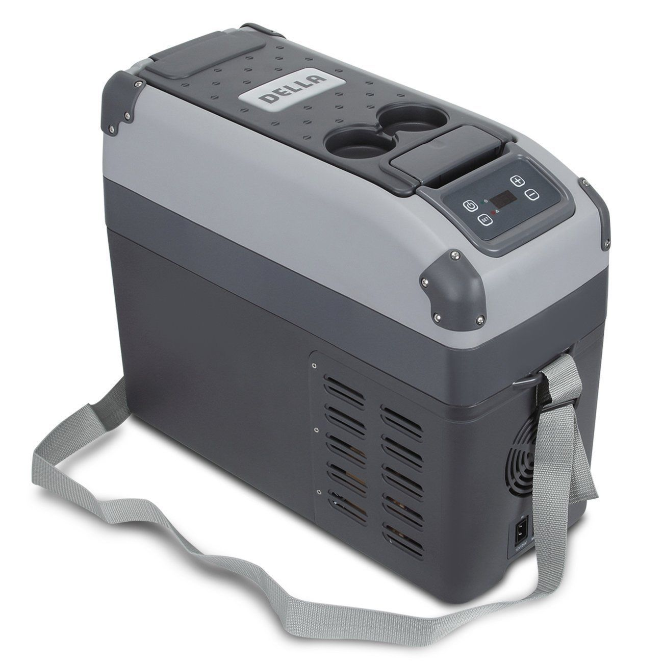 Della 16l Portable Refrigerator 12v Freezer Cooler Electric Ac Dc Fridge Usb And Portable Refrigerator Usb Portable Fridge