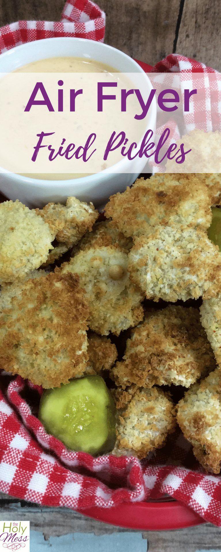 air fryer Air Fryer Fried Pickles Air fryer recipes, Ww