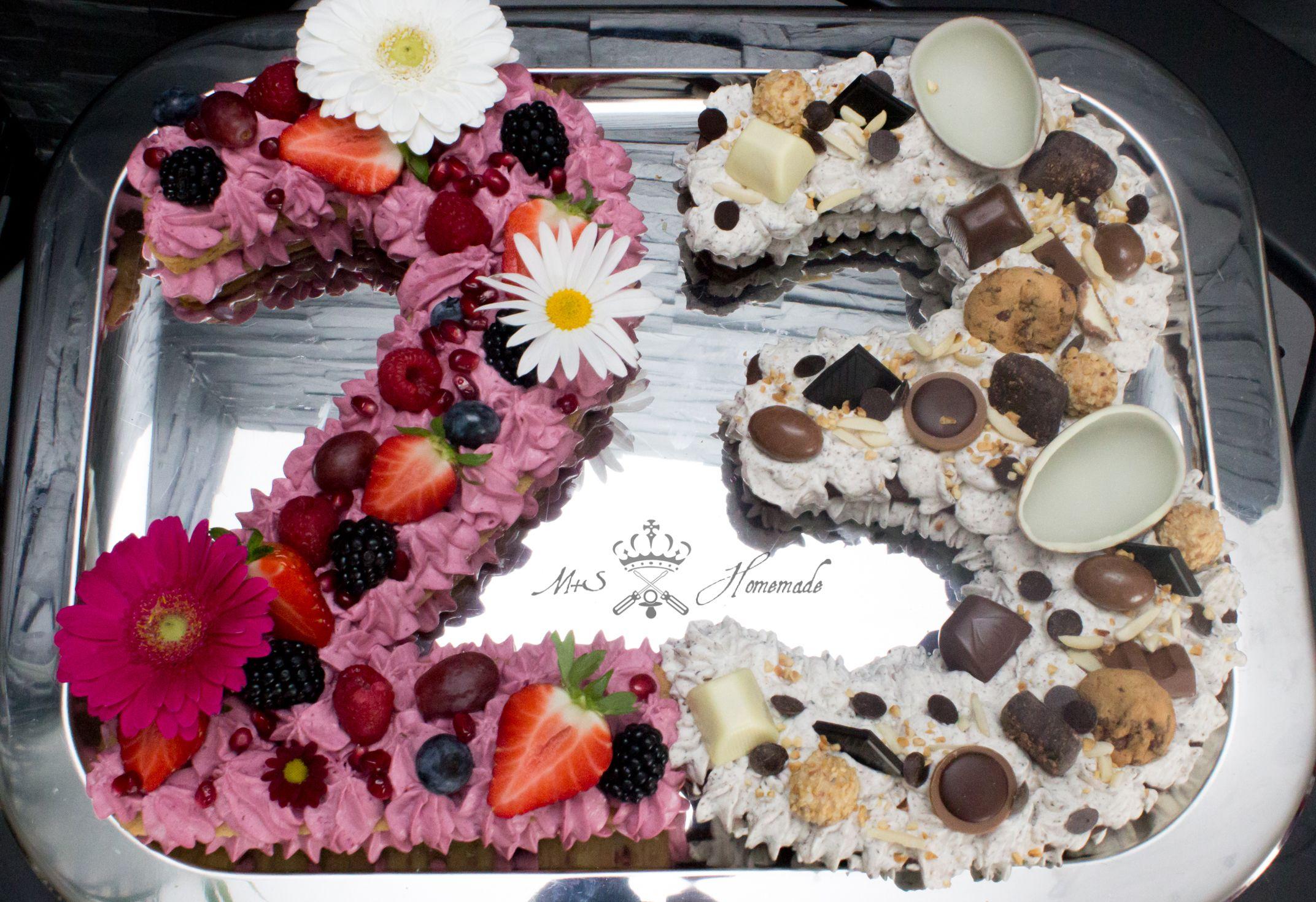 Number Cake Zahlentorte Trendtorte 2018 Lebensmittel Essen Motivtorten Torten