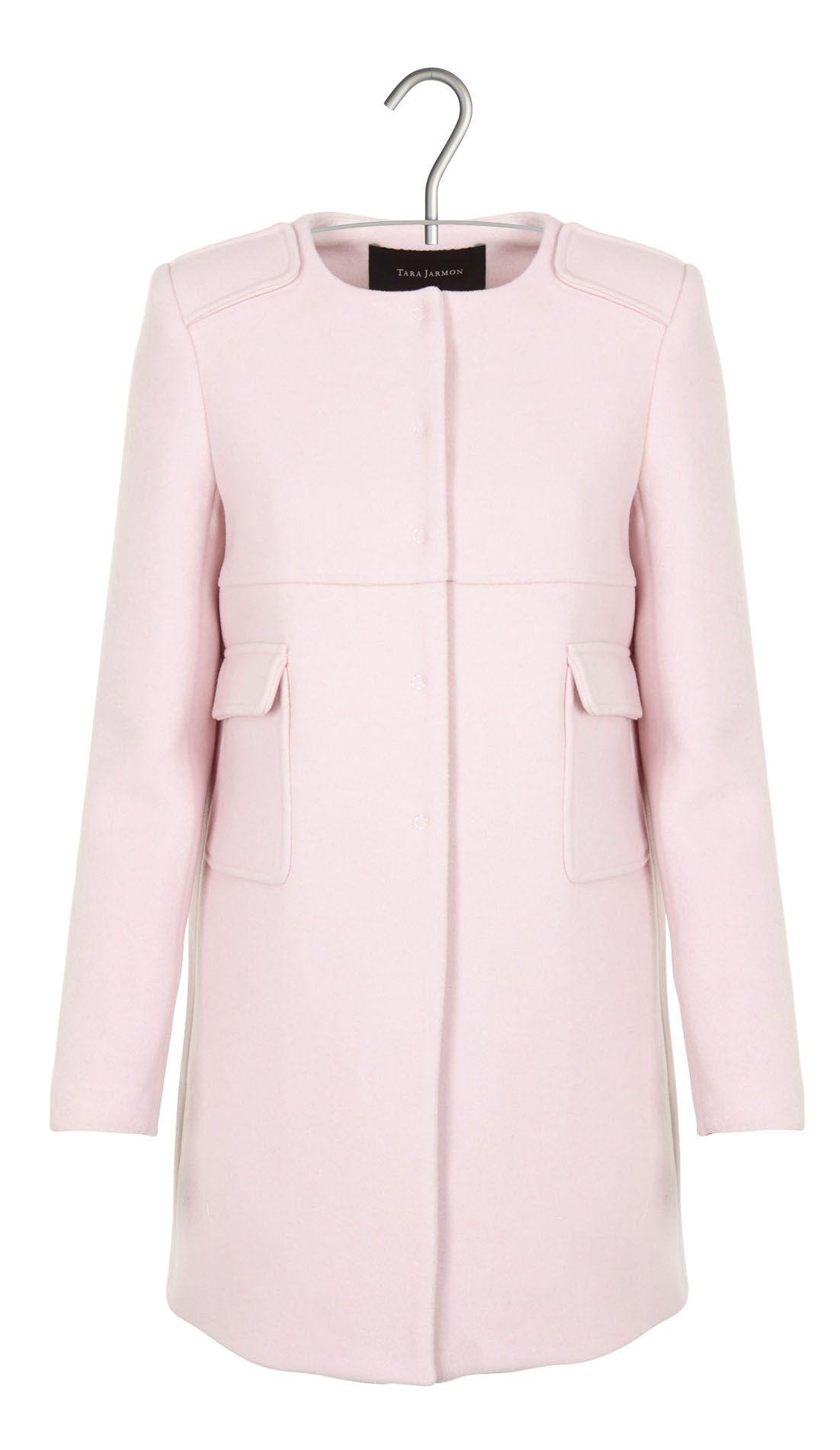 vente au royaume uni bon service meilleur prix pour Manteau en laine et cachemire Rose by TARA JARMON | Fashion ...