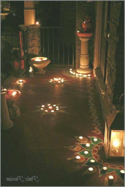 Diwali Décor Diwali decorations Diwali home décor Diwali Inspiration India #diwalidecorations