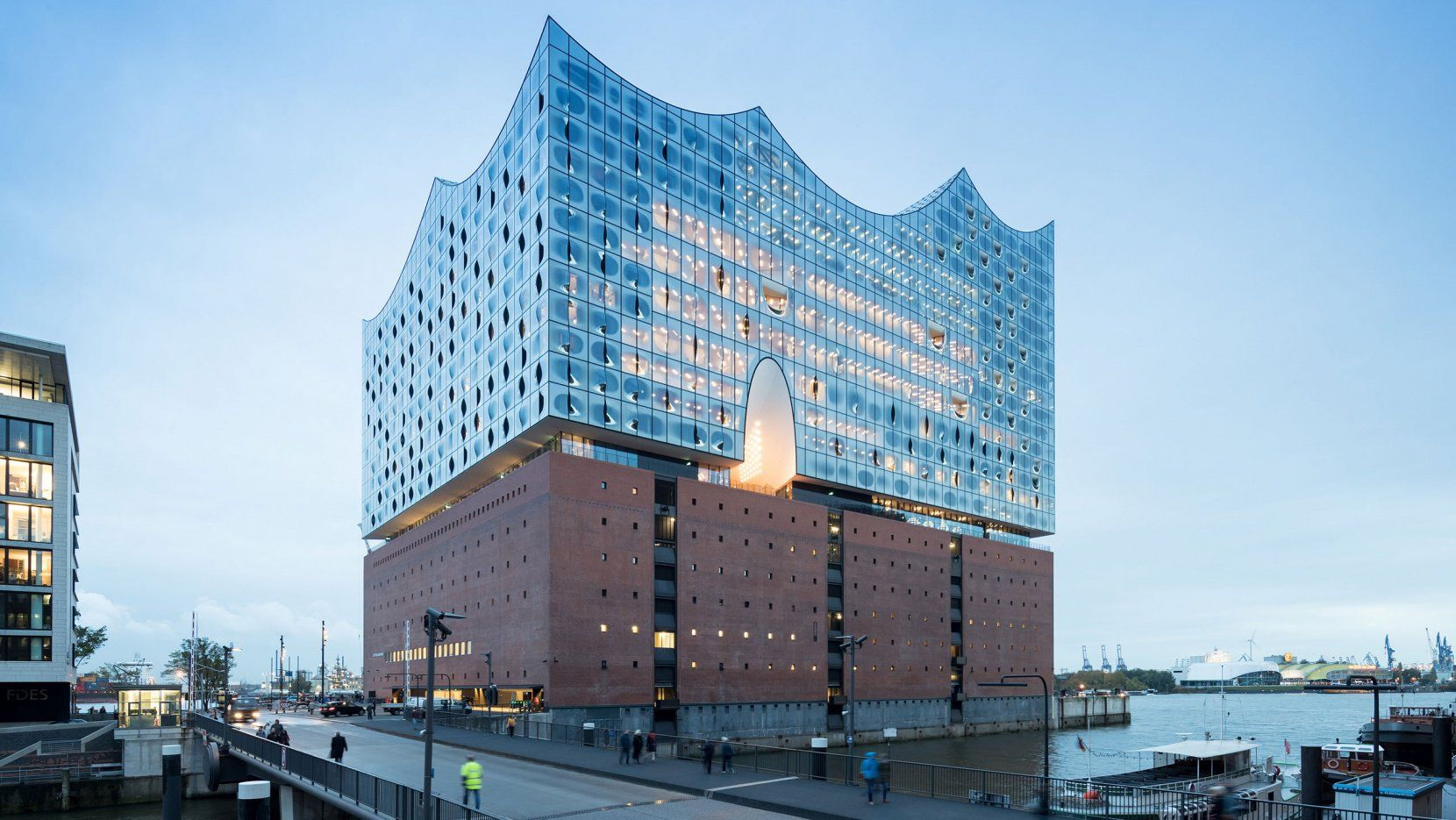 The Majestic Elbphilharmonie In Hamburg By Herzog De Meuron Yatzer Cultural Architecture Architecture Building