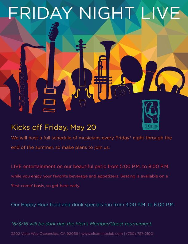 live music event flyer poster template live music concert events