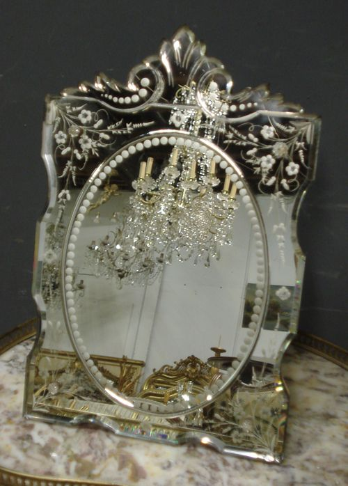 Antique Venetian Dressing Table Mirror From Www