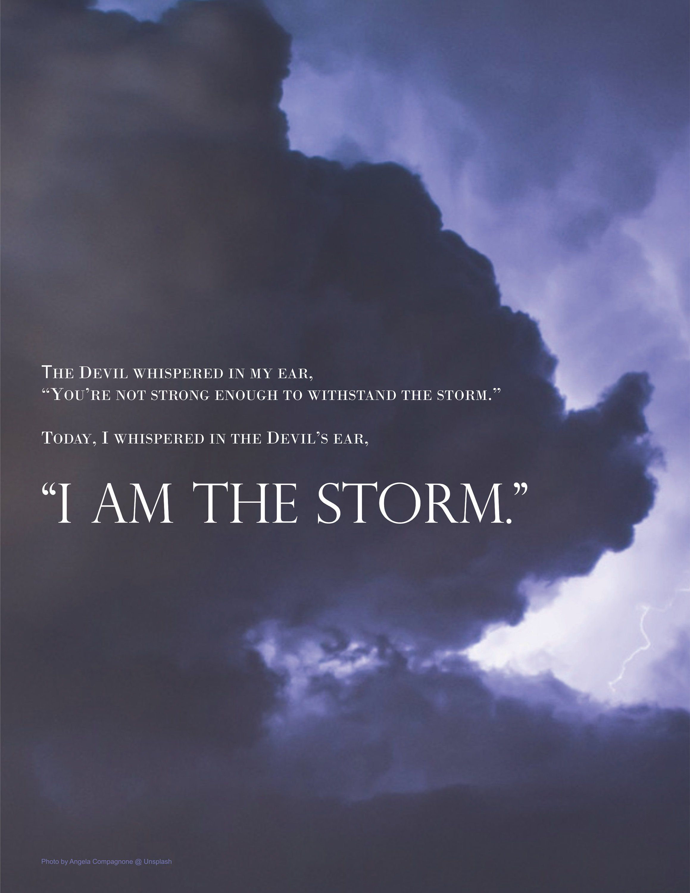 i am the storm printable etsy quotes, life sample resume for teenager with little work experience free academic template word skills law enforcement