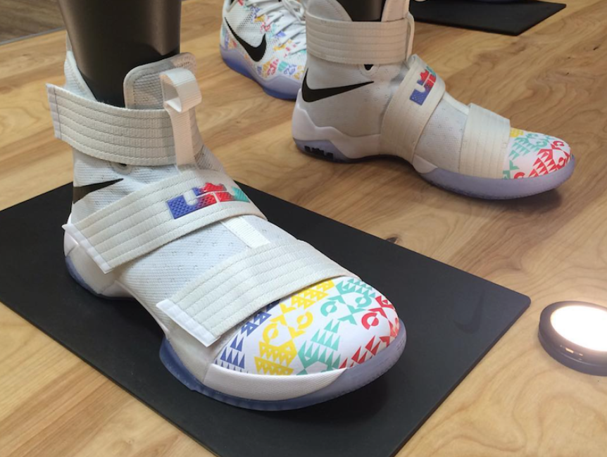an initial look at the nike lebron zoom soldier 10 the academy