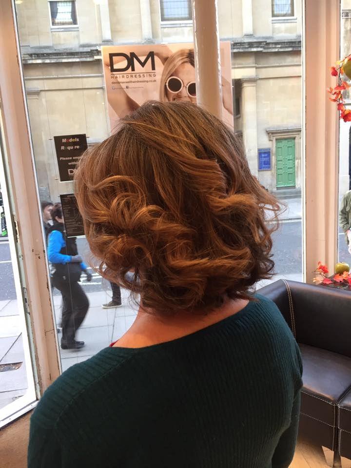 Short Hair Curl Curls Curly Wavy Prom Wedding Natural Beautiful