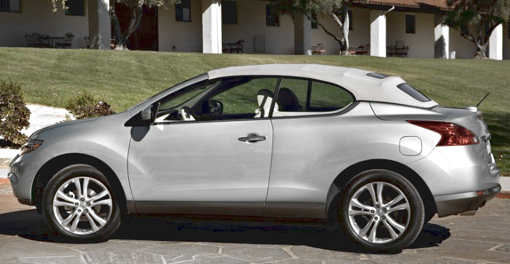 Want A Convertible Suv Nissan S Murano Crosscabriolet Now Starts At 41 995 Nissan Murano Nissan Suv